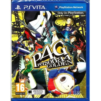 Harga Sony PS Vita Persona 4 Golden