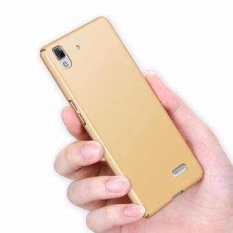 Harga Ultra-thin Hard Hybrid PC Protective Back Cover Case For Oppo R7 (Gold) - intl