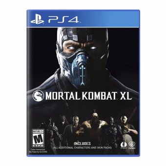 Harga Sony PS4 Games Mortal Kombat XL