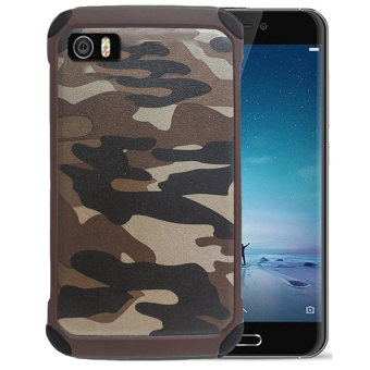 Harga Case Army Protection for Xiaomi Mi 5 - Coklat Army