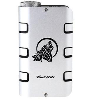 Harga SMY GOD 180W Variable Voltage Wattage Box Mod Premium - Silver