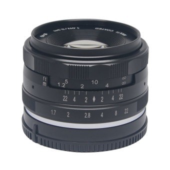 Harga Meike 35mm f1.7 Large Aperture Manual Multi Coated Focus Lens Aps-C for Sony nex3 nex5 nex6 nex7 a5000 a5100 a6000 a6100 a6300