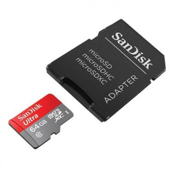 Harga Sandisk Micro SD Ultra 64 GB Class 10 UHS-1 80 MB/s High Quality