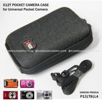 Harga X12T Pocket Case - Best for Pocket Camera for Canon Nikon Sony Panasonic Fuji etc