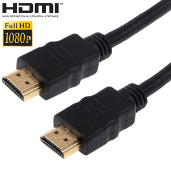 Harga HDMI to HDMI Cable OD7.3mm Gold Plated 4K - 3m - MK02 - Black