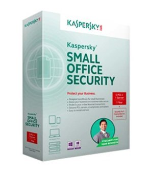 Harga Kaspersky Small Office Security 1 Server + 5 Client