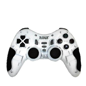 Harga M-TECH Gamepad Wireless Turbo - Putih