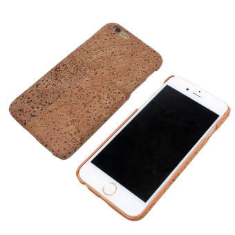 Harga Boshiho JP0152LA Natural Cork Designed Ultra Thin Hard Case for iPhone 6 Plus (Tan)