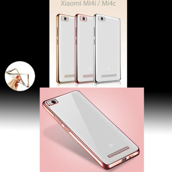 Harga Original Ultra Thin Case Chrome For Xiaomi Mi4i/Mi4c - Rose Gold