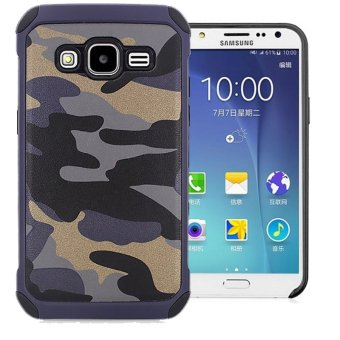 Harga Case Army Protection Case for Samsung Galaxy J3 - Blue Army