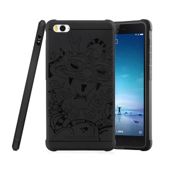 Harga Case TPU Dragon Back Cover Silikon Original for Xiaomi Mi 4i / Mi 4c - Black
