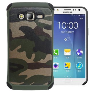 Harga Case Army Protection Case untuk Samsung Galaxy J7 - Green Army