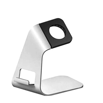joyliveCY Universal Metal Portable Holder Bracket Stand for iPhone / Iwatch / Sumsung White