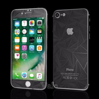 Harga Sloof Tempered Glass Mirror 3D Diamond Front & Back iPhone 7Plus / 7S Plus - Hitam
