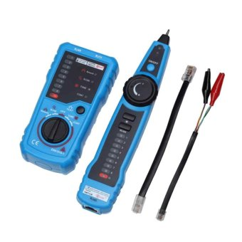 Harga Network LAN Cable Tester RJ45 RJ11 Wire Tracker Tracer Line Finder Testing Tools - intl