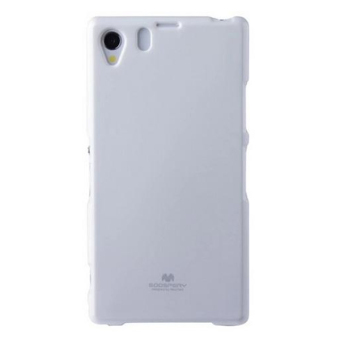 ... Harga Mercury Goospery Jelly Glittercase Untuk Sony Xperia Z1 Case Putih