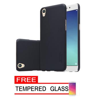 Casing Transformer Series Black Free Tempered Glass. Nillkin Frosted Hard Case Oppo .