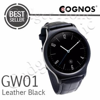 Harga Cognos Smartwatch GW01 - GSM - Heart Rate - Leather Black