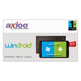 Harga TABLET AXIOO WINDROID 7G DUAL OS ANDROID WINDOWS