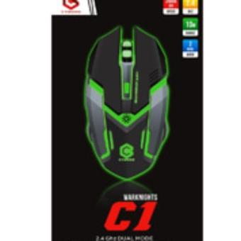 Harga Cyborg C1 Warknights Mouse Wireless Gaming Rechargeable