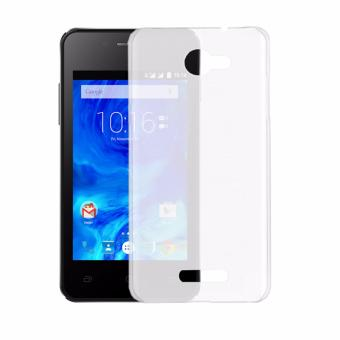 Softcase Silicon Ultrathin for Smartfren Andromax EC - White Clear