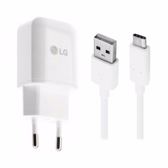 Harga LG Original Travel Charger for LG G2/G3/G4 - White