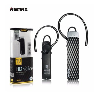 Harga Remax Bluetooth Headset HD VOICE - T9 - Hitam