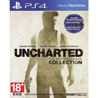 Harga Sony PS4 Games Uncharted The Nathan Drake Collection