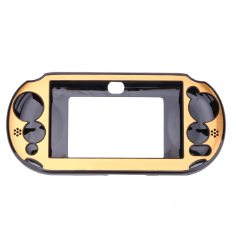 Harga Aluminum Skin Case Cover Shell for Sony PS Vita 2000(Golden) - Intl