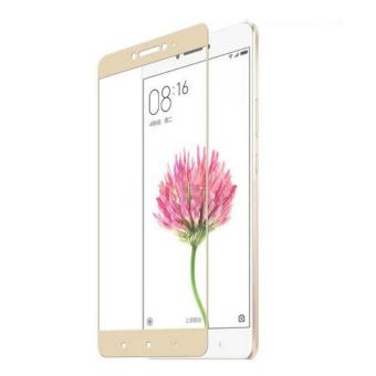 Hunter 3D Full Cover Tempered Glass Screen Protector for Xiaomi Mi Max - Gold