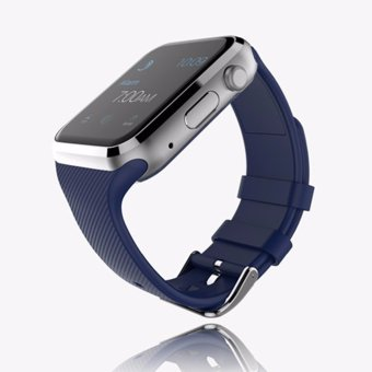 BLN GD19 Smart Watch Android Connected Clock Smart Wach Support SIM Card Phone Smartwatch (Blue) - intl