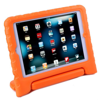 Harga Welink Apple iPad Air 1 EVA Case / Shockproof Case Light Weight Kids Case Super Protection Cover Handle Stand Case For Apple iPad Air 1 (Orange)