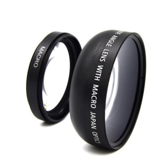Harga 49mm 0.45X Wide Angle Lens For Sony A NEX3 NEX5 NEX NEX-C3 Camera - intl
