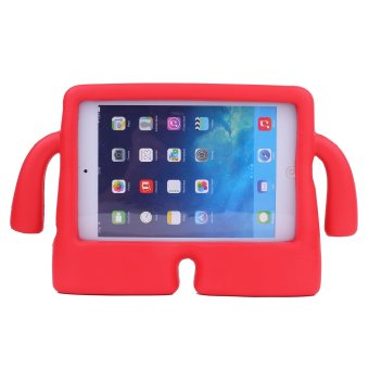 Harga Welink Apple iPad Air 1 / Air 2 EVA Case / Safety EVA Light Weight Shockproof Super Protection Kids Convertible Freestanding Handle Tablet Case Kiddie Funny Cases for Apple Ipad Air 1 / Air 2 (Red)
