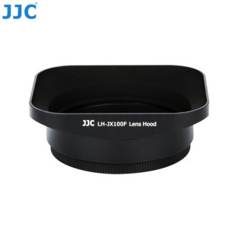 Harga JJC LH-JX100F Metal Square Lens Hood & Adapter Ring Kit for Fujifilm X100, X100S, X100T, X100F and X70 cameras - intl
