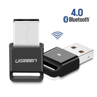 Harga Ugreen Wireless USB Bluetooth Adapter V4.0 Dongle Music Sound Receiver Bluetooth Transmitter for Computer PC - intl