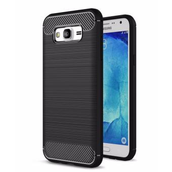 Harga iCase Carbon Shockproof Hybrid Case for Samsung Galaxy J2 Prime - Hitam
