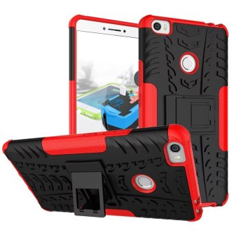 Hybrid High Impact Shockproof Case Cover For Xiaomi Mi Max (Red) - intl