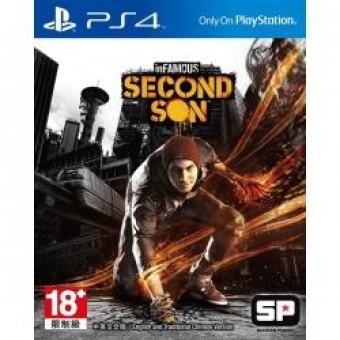 Harga Sony PS4 Infamous Second Son Reg All