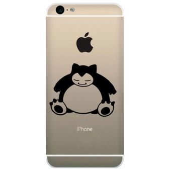 Harga Tokomonster Decal Sticker Apple iPhone 6 - Pokemon Snorlax - 4 Buah