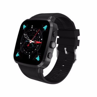 Harga Newest Quad Core 3G Smart Watch N8 Android 5.1 512RAM 8GBROM GPS WiFi Bluetooth4.0 Pedometer Camera 5.0M MTK6580 SmartWatch - intl