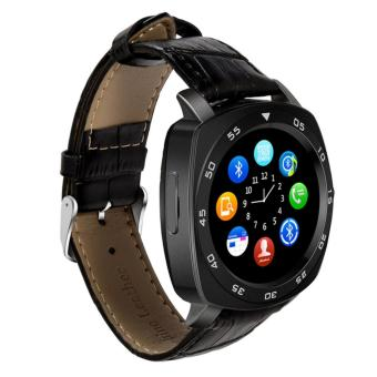 Harga KINwatch Pollux Smart Watch LCD Full Circle Smartwach S6 Support Android & IOs with Slot Sim Card and Tf Card