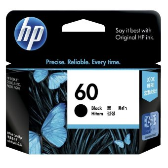 Harga HP Tinta Printer HP 60 Black