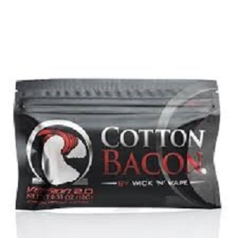Harga Kapas Organik / Organic Cotton Bacon version 2.0 by Wick 'N' Vape