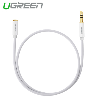 Harga UGREEN 3.5mm Stereo Auxiliary Extension Cable (1.5m) White - Intl