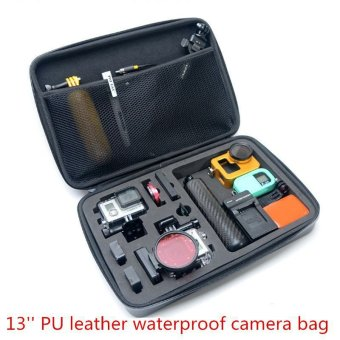 Harga HERO Waterproof EVA Tas Bag Big Size Case GoPro Xiaomi Yi Kogan sj400