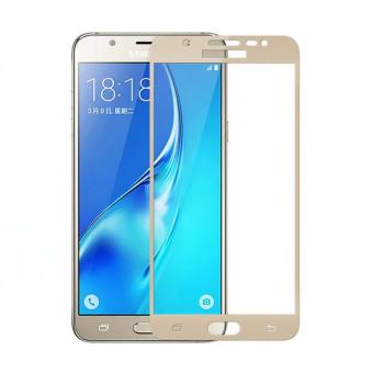 HMC Tempered Glass Full Cover Colour for Samsung Galaxy A7 2017 / A720