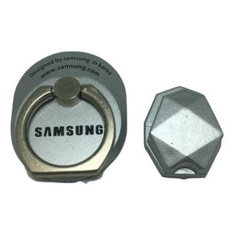 Harga Ring Stand Holder Hook Logo Samsung Silver .