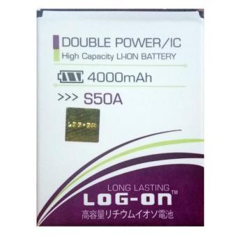 Log On Baterai Advan S50A - Double Power Battery - 4000 mAh
