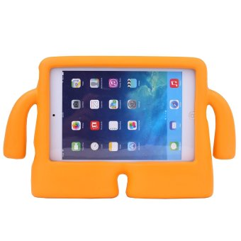 Harga Welink Apple iPad 2/3/4 EVA Case / Safety EVA Light Weight Shockproof Super Protection Kids Convertible Freestanding Handle Tablet Case Kiddie Funny Cases for Apple Ipad 2/3/4 (Orange)